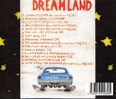 Dreamland CD Back Cover