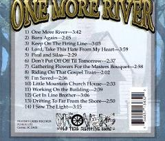 One More River CD  Back Cover